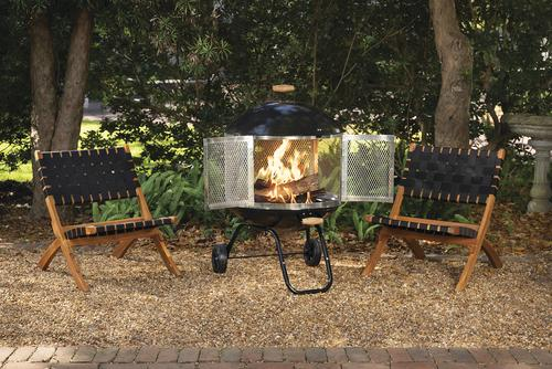 4. Put a Fire out at a Fire-pit